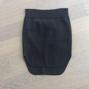 Alexander Wang Black Mini Skirt